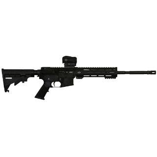 "ALEX PRO FIREARMS ALEX PRO FIREARMS ARF-15 16"" .223WYLDE WITH VORTEX SPARC RED DOT CA OK"