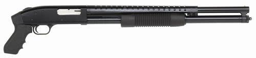 """MOSSBERG MOSSBERG 500 PERSUADER 12G 20"""" BLACK WITH HEAT SHIELD"""