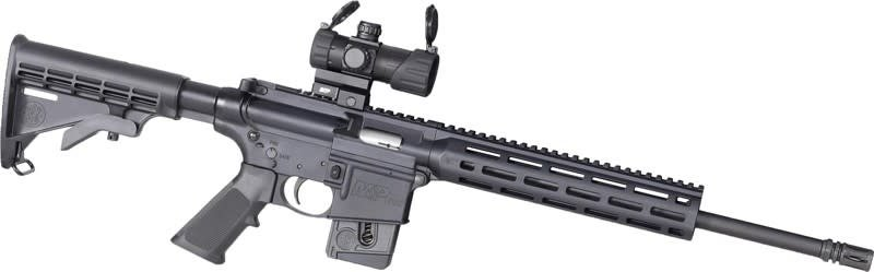"SMITH AND WESSON SW M&P 15-22 .22LR 16"" OPTICS READY WITH RED DOT SIGHT"