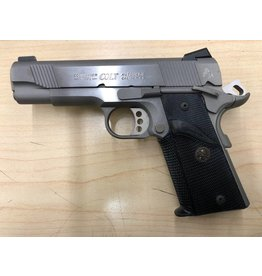 """COLT CONSIGNMENT COLT 1911 COMBAT COMMANDER .45 4.25"""" STAINLESS STEEL 2 MAGS"""