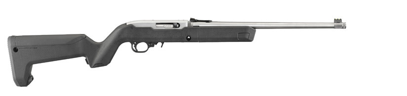 "RUGER RUGER 10/22 MAGPUL BACKPACKER 16"" STAINLESS STEEL BARREL  4 MAGAZINES"