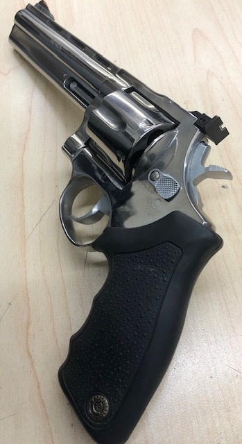 "TAURUS CONSIGNMENT TAURUS MODEL 44 .44MAG 6.5"" POLISHED STAINLESS"