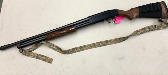 """MOSSBERG CONSIGNMENT/USED MOSSBERG 500A 12G 23"""" WITH C-LECT CHOKE"""
