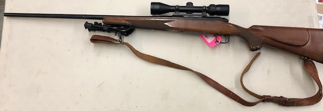 "WINCHESTER CONSIGNMENT/USED WINCHESTER MODEL 70 SPORTER .300WIN 26"" WITH BIPD AND BUSHNELL SCOPE"