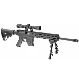 "SMITH AND WESSON S&W M&P 15-22 .22LR 16"" SEMI-AUTO 1 10 RD MAG 4X32 SCOPE AND CALDWELL BIPOD"