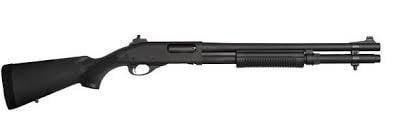 "REMINGTON ARMS - LONG GUNS REMINGTON LE 870P POLICE 12G 18"" GHOST RING SIGHTS  SYN 7RD"