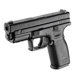 "SPRINGFIELD SPRINGFIELD XD9 ESS 9MM 4"" BLK 10RD 2 MAGAZINES"
