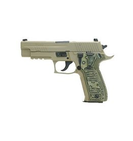 "SIG SAUER SIG SAUER P226 SCORPION 9MM 4.4"" 10RD WITH NIGHT SIGHTS  FDE"