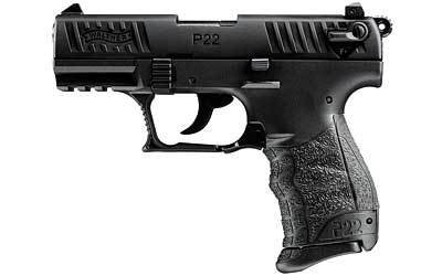 """WALTHER WALTHER P22 22LR 3.4"""" BLACK 1-10RD CA"""