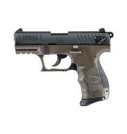 "WALTHER P22 MILITARY 22LR 10+1 3.4"" OD GREEN CA"