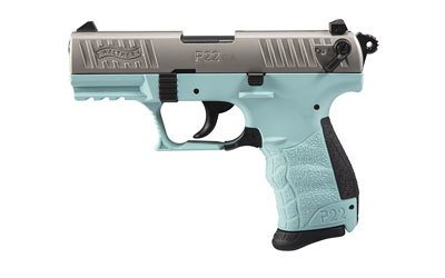 """WALTHER WALTHER P22  .22LR 3.4"""" ANGEL BLUE 10RD CA"""