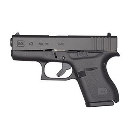 GLOCK GLOCK 43 BLUE LABEL 9mm ACTIVE CA LAW ENFORCEMENT ONLY