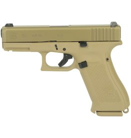 "GLOCK BLUE LABEL GLOCK 19X 9MM 4"" FDE WITH GLOCK NIGHT SIGHTS ***LAW ENFORCEMENT ONLY***"