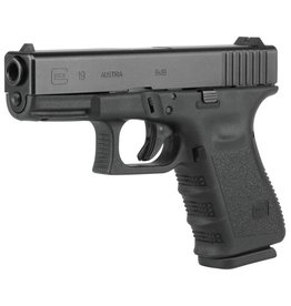 GLOCK GLOCK 19 GEN 3 BLUE LABEL NIGHT SIGHTS 9MM WITH 3 10 ROUND MAGAZINES