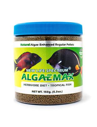 New Life Spectrum AlgeaMAX Naturox Formula 1mm Sinking Pellet Salt/Fresh (150 g) New Life Spectrum