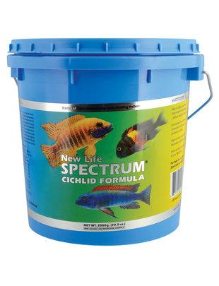 New Life Spectrum New Life 2200g Cichlid Naturox Formula 1mm