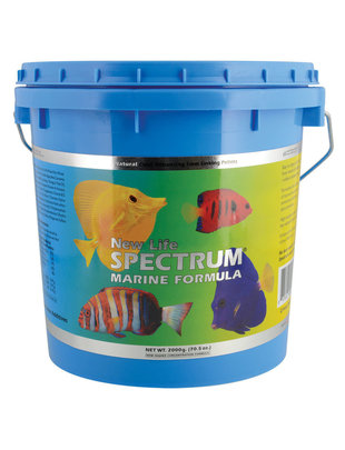 New Life Spectrum New Life 2200g Marine Naturox Formula 1mm