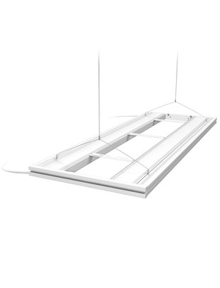 "Aquatic Life 48"" T5HO Hybrid 4 Lamp (No Lamps) - White"