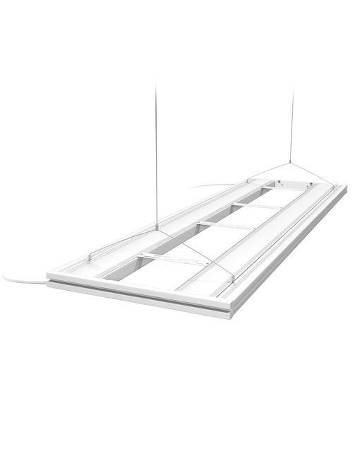"""Aquatic Life 61"""" T5HO Hybrid 4 Lamp (No Lamps) - White"""