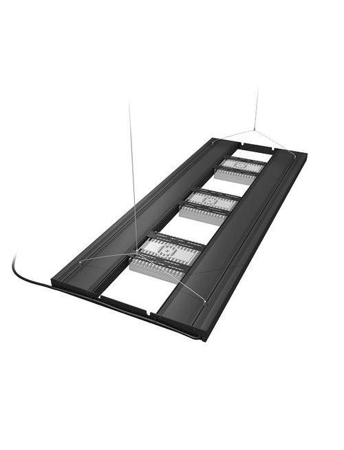 """Aquatic Life 48"""" T5HO Hybrid 4 Lamp (No Lamps) - Black"""