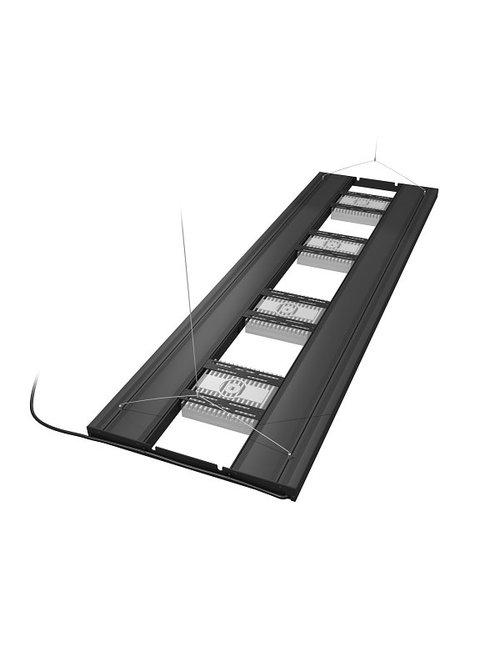 """Aquatic Life 61"""" T5HO Hybrid 4 Lamp (No Lamps) - Black"""