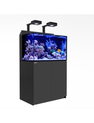 Red Sea Max-E 260 Complete LED Reef Aquarium System (69G, Black) Red Sea
