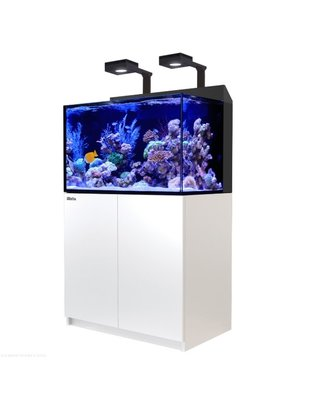 Red Sea Max-E 260 Complete LED Reef Aquarium System (69G, White) Red Sea