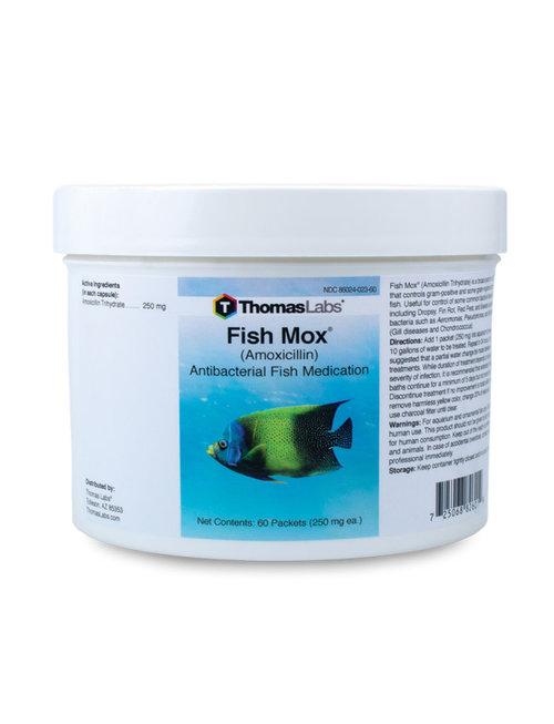 Fish Mox 250mg (60 ct Powder Packets) ThomasLabs