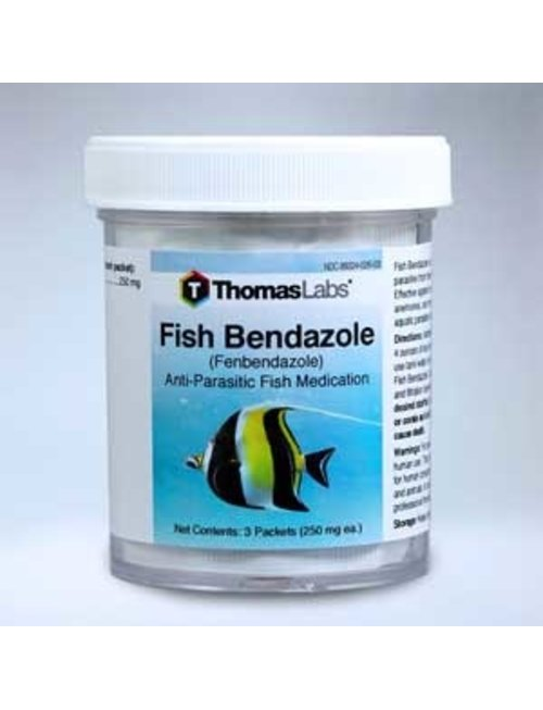 Fish Bendazole 250mg (30 ct Powder Packets) ThomasLabs