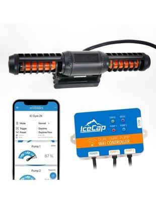 IceCap Gyre 2K Flow Pump w/Controller (2000GPH, 20-90g) - Icecap