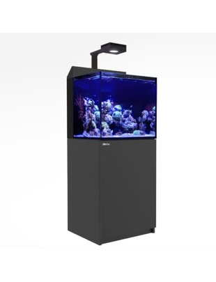 Red Sea Max-E 170 Complete LED Reef Aquarium System (45G, Black) Red Sea