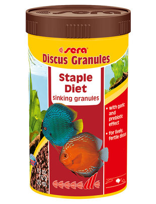 Discus Granuales Staple Diet (3.9oz) Sera