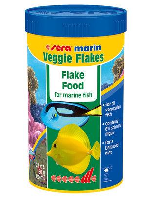 Marin Veggie Saltwater Flake Food (2.1oz/250ml) Sera