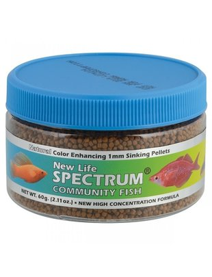 New Life Spectrum Community Formula 1mm Sinking Pellet Fresh - New Life Spectrum  60g