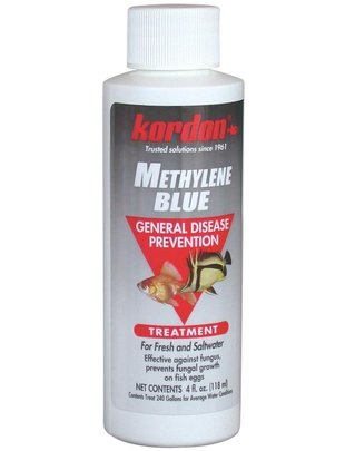 Kordon Methylene Blue Fungus and General Disease Control (4oz) Kordon