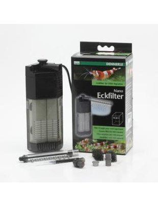 Dennerle Nano Eckfilter Corner Filter (up to 10 gal) Dennerle