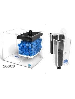 Eshopps WD-CS Wet / Dry Filter System (Filter with Overflow Box) Eshopps  WD-100CS
