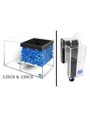Eshopps WD-CS Wet / Dry Filter System (Filter with Overflow Box) Eshopps  WD-125CS