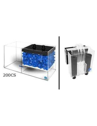 Eshopps WD-CS Wet / Dry Filter System (Filter with Overflow Box) Eshopps  WD-200CS