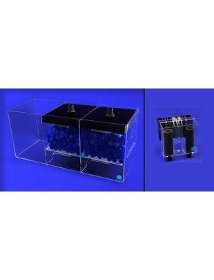 Eshopps WD-CS Wet / Dry Filter System (Filter with Overflow Box) Eshopps  WD-300CS