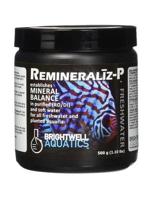 BrightWell Aquatics Remineraliz-P Mineral Balance for FW (1.1Lb) Brightwell Aquatics
