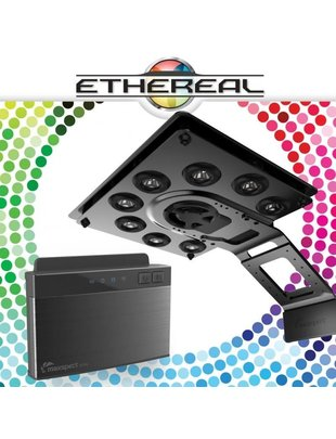 MaxSpect Ethereal 130W LED Light Fixture + ICV6 Controller (Master Bundle) Maxspect