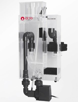 Reef Octopus Classic 2000-HOB Hang-On-Back Protein Skimmer (80-200Gal) Reef Octopus