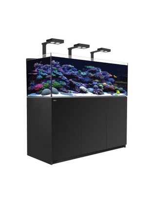 Red Sea Reefer Deluxe XL 525 LED Reef Aquarium System (139G, Black) Red Sea