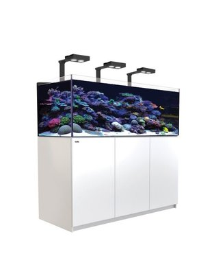 Red Sea Reefer Deluxe XL 525 LED Reef Aquarium System (139G, White) Red Sea