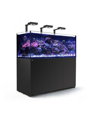Red Sea Reefer Deluxe XXL 625 LED Reef Aquarium System (165G, Black) Red Sea