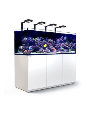 Red Sea Reefer Deluxe XXL 750 LED Reef Aquarium System (200G, White) Red Sea