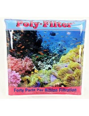"Poly-Bio Marine Inc. Poly Filter, Chemical Filtration Pad (12""x12"") Poly-Bio Marine"