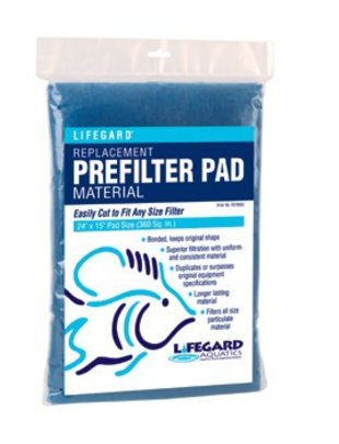 "Lifegard Aquatics Bonded Filter Floss Pad (24""x15"") Lifegard Aquatics"