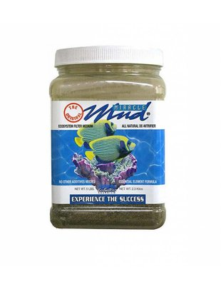 Ecosystem Aquariums Miracle Mud Refugium Substrate (5lbs) Ecosystem Aquarium